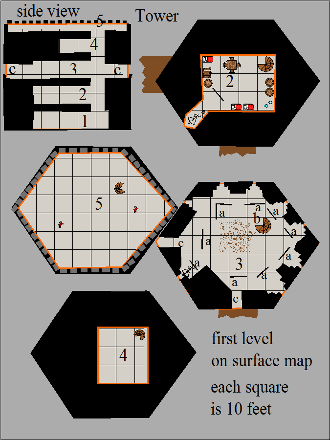 Odd-shaped, Map 2, Trillolara